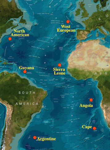 Evolution in the north american basin sampling locations to test ocean wide patterns of population structure and the improtance of the mid atlantic ridge in isolating populations sciox Image collections